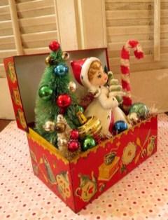 Beautiful Vintage Christmas Decoration Ideas 19