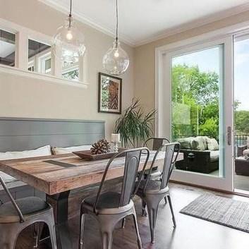 Best Rustic Dining Room Design Ideas 02
