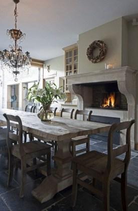 Best Rustic Dining Room Design Ideas 10