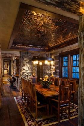 Best Rustic Dining Room Design Ideas 11