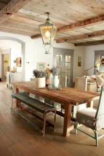 Best Rustic Dining Room Design Ideas 17