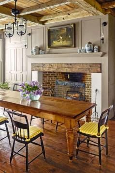 Best Rustic Dining Room Design Ideas 20
