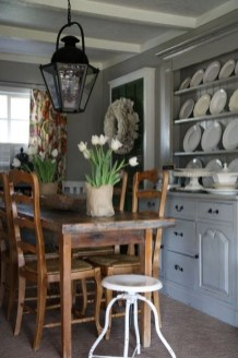 Best Rustic Dining Room Design Ideas 25