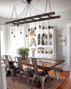 Best Rustic Dining Room Design Ideas 33