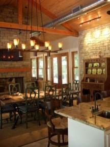 Best Rustic Dining Room Design Ideas 34