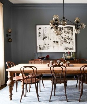 Best Rustic Dining Room Design Ideas 46