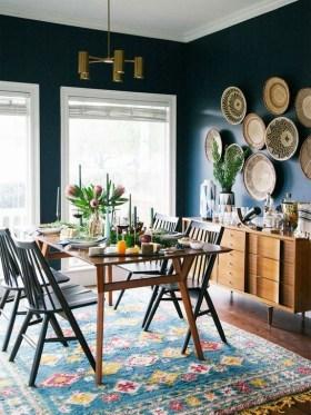 Best Rustic Dining Room Design Ideas 54