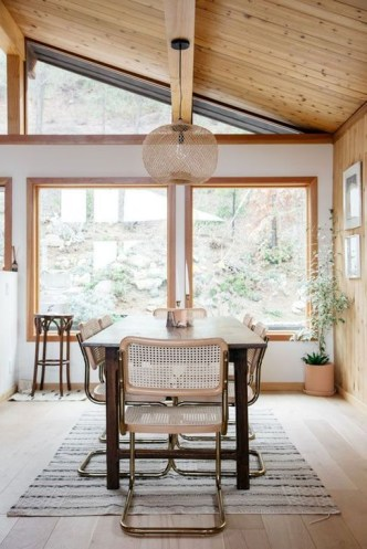 Best Rustic Dining Room Design Ideas 58