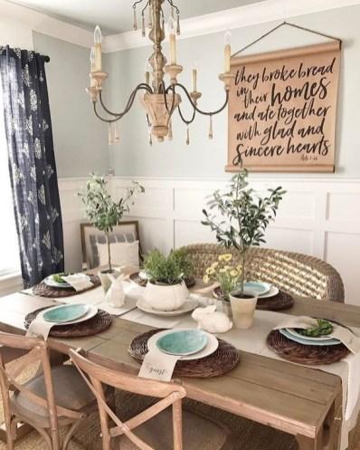Best Rustic Dining Room Design Ideas 60