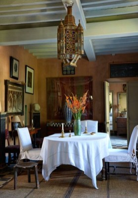 Comfy Moroccan Dining Room Design You Should Try 09