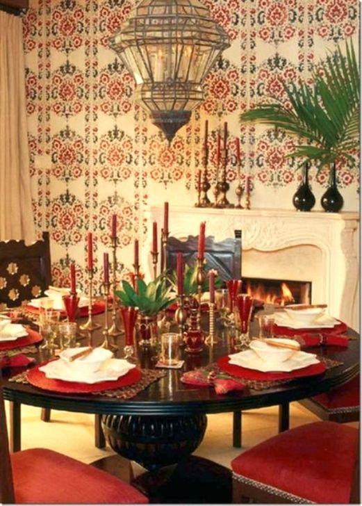 Comfy Moroccan Dining Room Design You Should Try 33