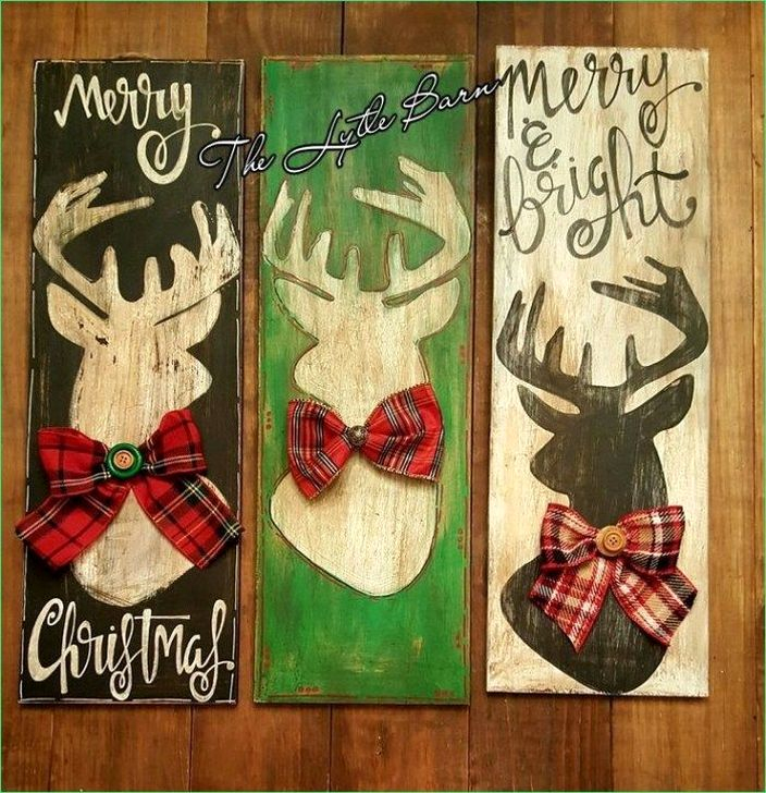 Cool Wood Christmas Decoration You Will Love 18