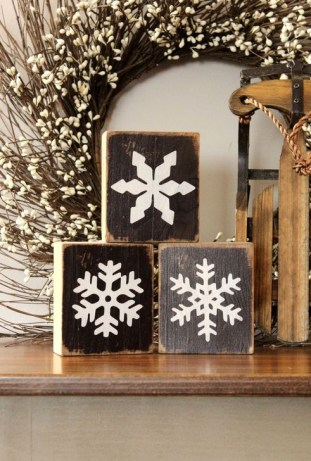 Cozy Rustic Winter Decoration For Your Home 15