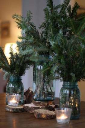 Cozy Rustic Winter Decoration For Your Home 24