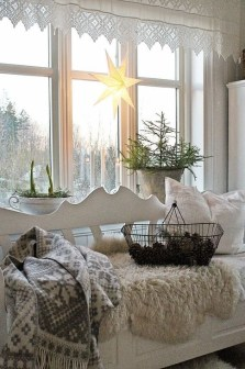 Cozy Rustic Winter Decoration For Your Home 48