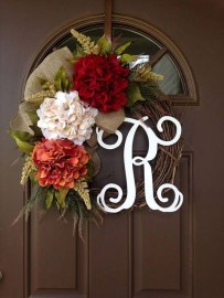 Creative Thanksgiving Front Door Decoration Ideas 10