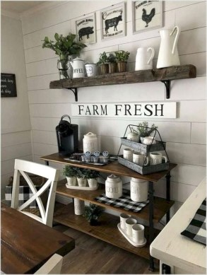 Easy Rustic Farmhouse Dining Room Makeover Ideas 22