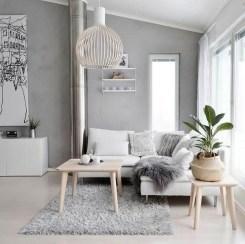 Elegant Scandinavian Living Room Design Ideas 05