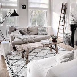 Elegant Scandinavian Living Room Design Ideas 28