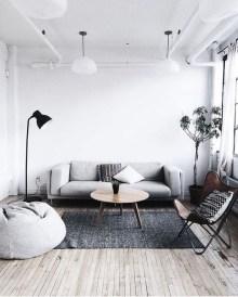 Elegant Scandinavian Living Room Design Ideas 39