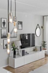 Elegant Scandinavian Living Room Design Ideas 45
