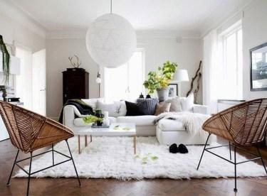 Elegant Scandinavian Living Room Design Ideas 55