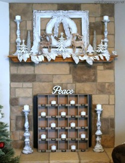 Favorite Mantel Decoration Ideas For Winter 05