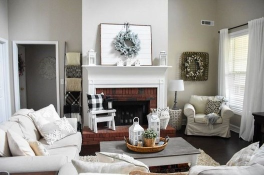 Favorite Mantel Decoration Ideas For Winter 08