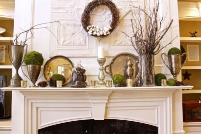 Favorite Mantel Decoration Ideas For Winter 25