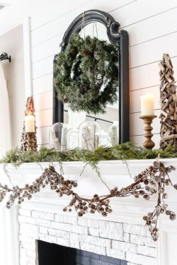 Favorite Mantel Decoration Ideas For Winter 45
