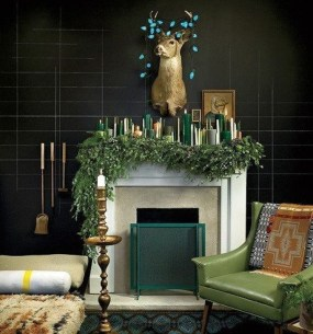 Favorite Mantel Decoration Ideas For Winter 49