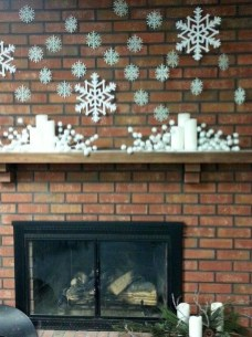 Favorite Mantel Decoration Ideas For Winter 51