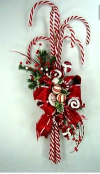 Fun Candy Cane Christmas Decoration Ideas 21