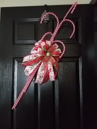 Fun Candy Cane Christmas Decoration Ideas 34