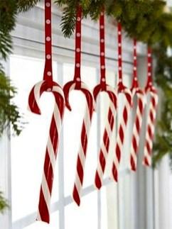 Fun Candy Cane Christmas Decoration Ideas 59