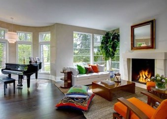 Gorgeous Fireplace Design Ideas For This Winter 13