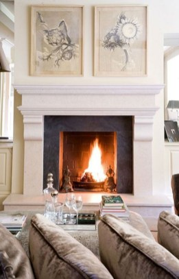 Gorgeous Fireplace Design Ideas For This Winter 16