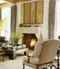 Gorgeous Fireplace Design Ideas For This Winter 19