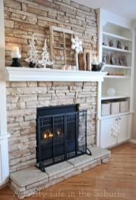 Gorgeous Fireplace Design Ideas For This Winter 35