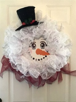 Interesting Snowman Winter Decoration Ideas 01