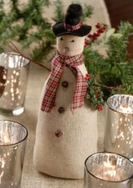 Interesting Snowman Winter Decoration Ideas 15