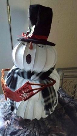 Interesting Snowman Winter Decoration Ideas 25 Copy