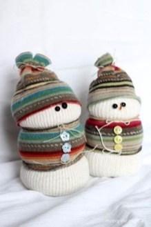 Interesting Snowman Winter Decoration Ideas 32