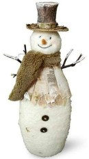Interesting Snowman Winter Decoration Ideas 40