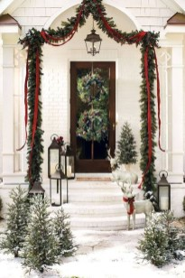Joyful Front Porch Christmas Decoration Ideas 10