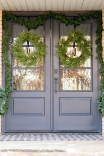 Joyful Front Porch Christmas Decoration Ideas 11