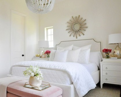 Minimalist But Beautiful White Bedroom Design Ideas 08