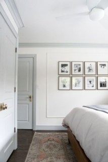 Minimalist But Beautiful White Bedroom Design Ideas 20