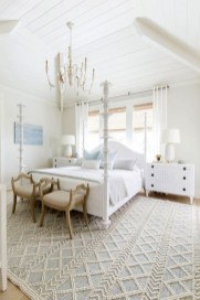 Minimalist But Beautiful White Bedroom Design Ideas 32