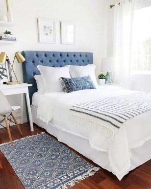 Minimalist But Beautiful White Bedroom Design Ideas 34